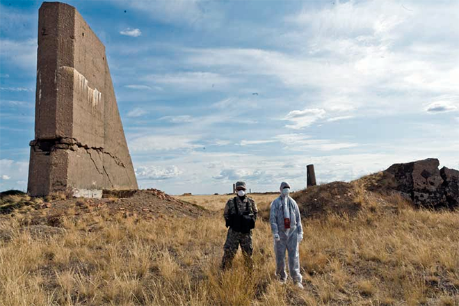 Semipalatinsk Nuclear Tests Site